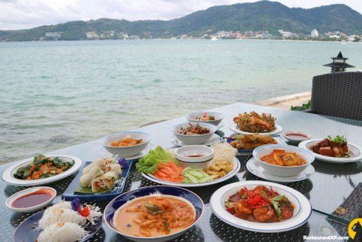 ร้านอาหาร ริมทะเล อมารี ภูเก็ต บรรยากาศดี อาหารอร่อย ติดทะเลเลย